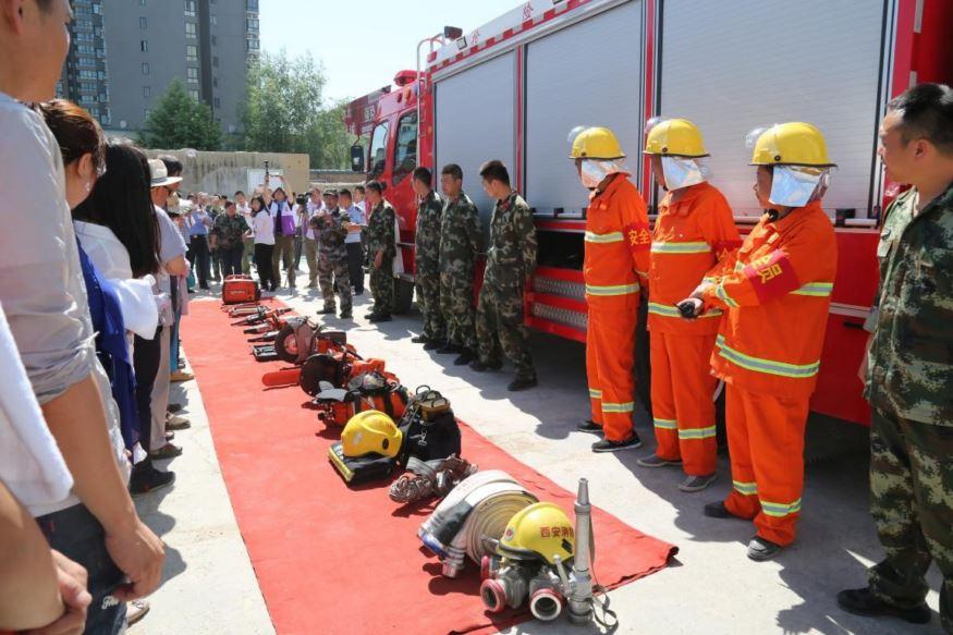 ballbet体育平台ballbet体育贝博app手机版参加咸东社区组织的模拟应急疏散演习